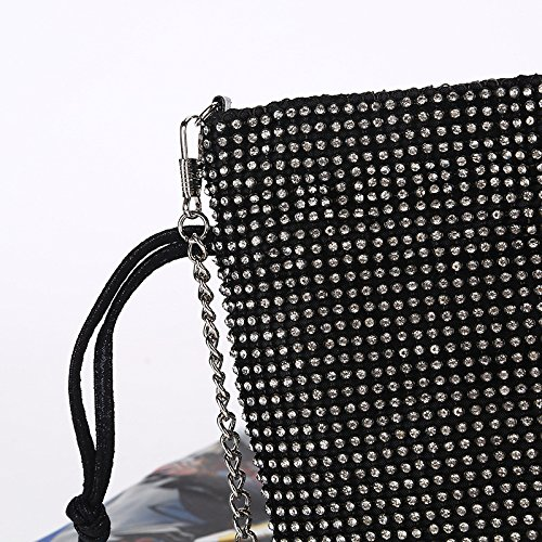 Mini Bag Bridal Suitable Party For Black Rabbit Silver Single Crossbody Color Women Casual Bag Wedding Lovely Bag Evening Shoulder Luxury SqwP6zwR1
