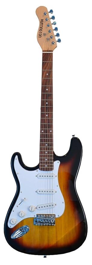 39 cm tamaño completo zurdos guitarra eléctrica para zurdos con bolsa de transporte gratuita, cable