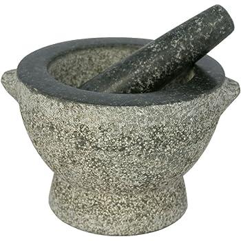 Amazon Com Libertyware Stone Granite Mortar And Pestle 4