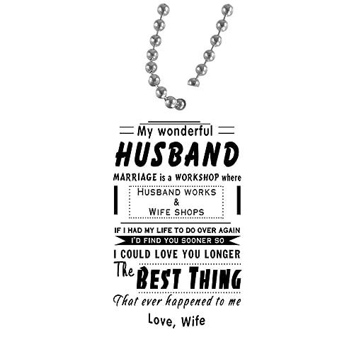Amazon.com: Spread inspiración maravilloso marido esposa ...