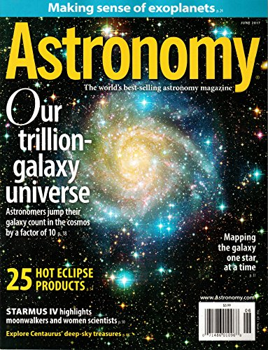 (Astronomy Magazine June 2017 | Trillion Galaxy)