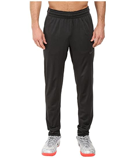 44b6f8a64112 Nike Mens Elite Cuff Basketball Sweatpants Black Black 776112-032 Size  Medium