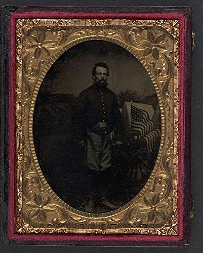 Artillery Shells War Civil - HistoricalFindings Photo: American Civil War,Unidentified Soldier,Union Artillery Shell Jacket,1861-1865