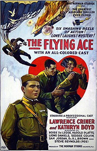 The Flying Ace Movie Poster Lawrence Criner (24 x 36)