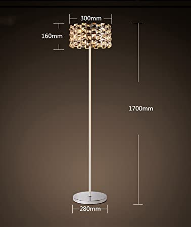 Caijun Crystal Stehleuchte Einfache Kreative Boden Licht Wohnzimmer
