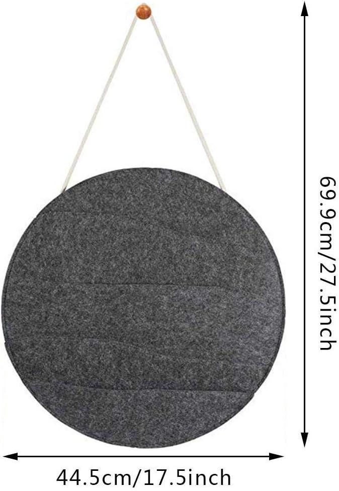 dewdropy 44,5cm H/ängetasche Wandaufbewahrung Tr/ümmersortiertasche Filz Aufh/ängetasche F/ür Brillenmagazin Lagerung