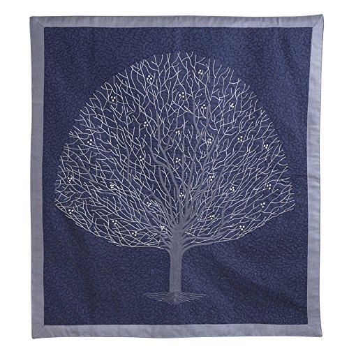 (Ten Thousand Villages Embroidered Silk Cotton Wall Hanging 25