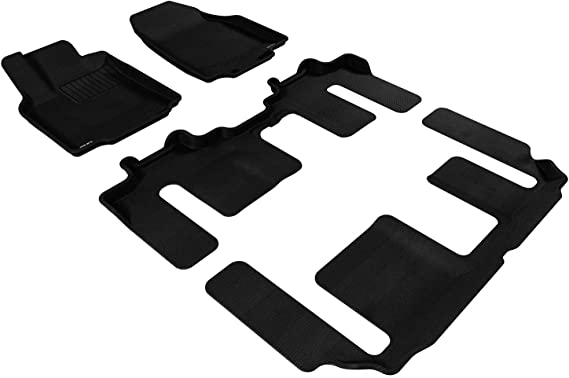 3D MAXpider L1MZ05801502 Tan All-Weather Floor Mat for Select Mazda Cx-5 Models Complete Set