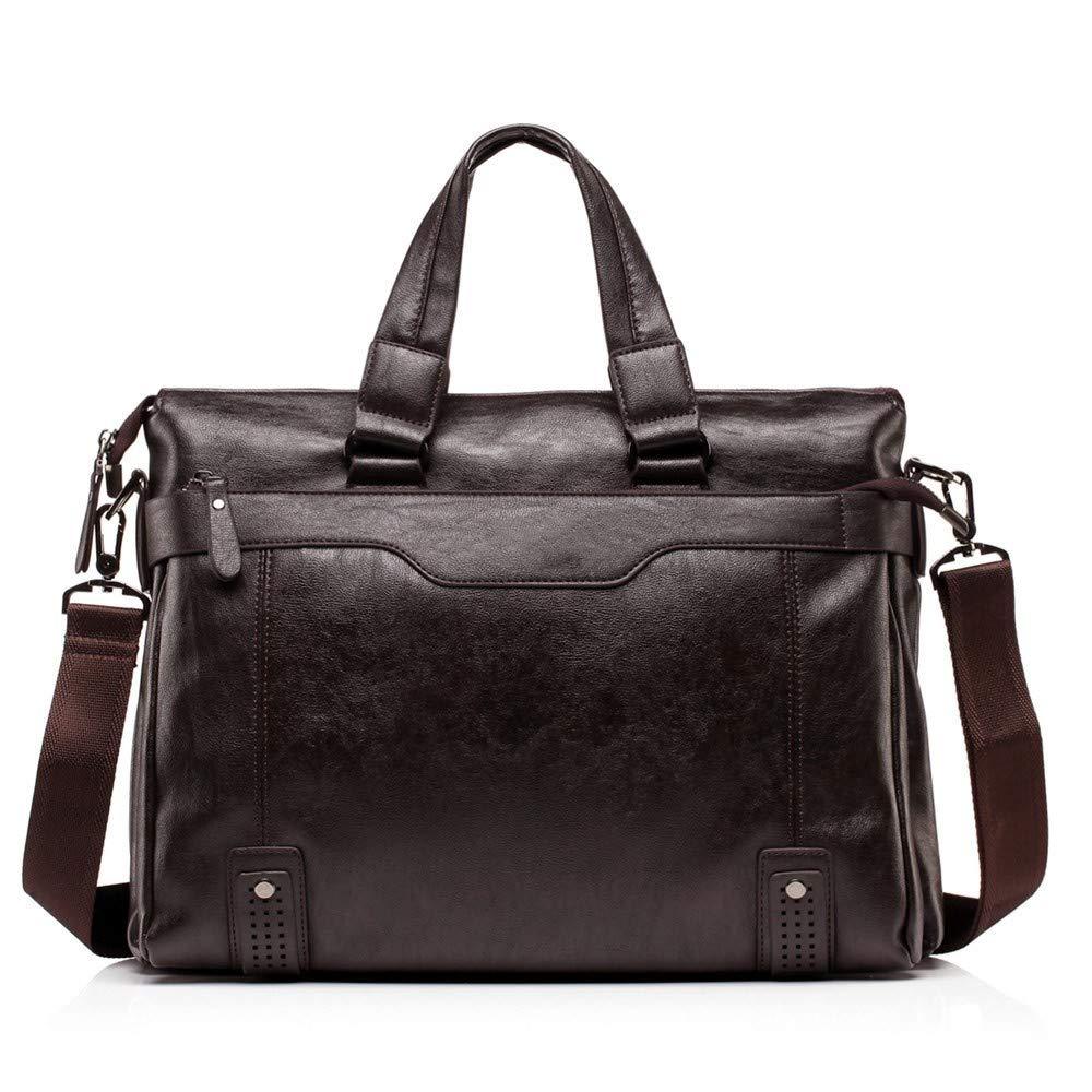 Lianaic Laptoptasche Männer Weichen Leder Geschäft Aktentasche Mode Messenger Bag Lässig Geschäft Tasche