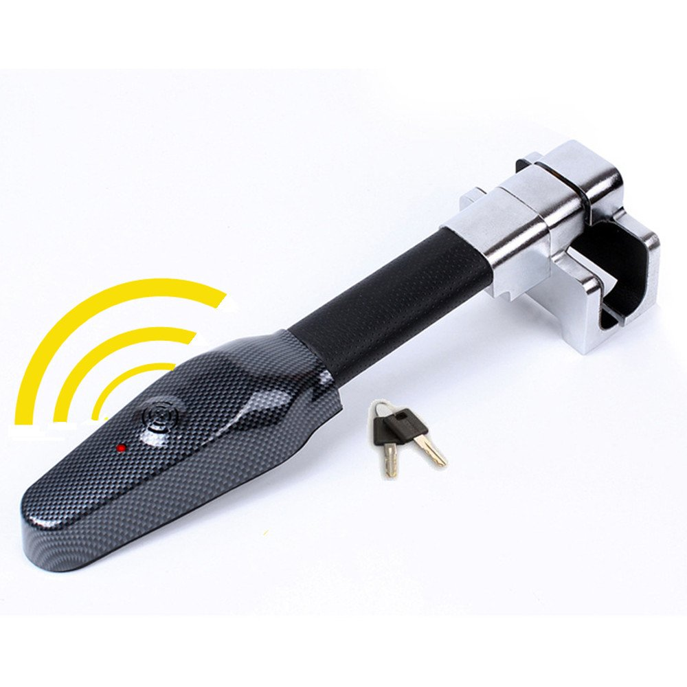 Steering Wheel Lock Universal Security Car Anti Theft Safety Alarm Lock Retractable Anti Theft Protection T-lock AUTLY
