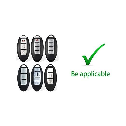 Amazon.com: MODIPIM - Carcasa de TPU para llave de coche con ...