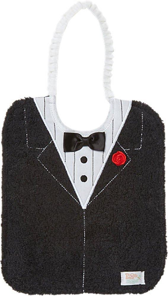 Zigozago - Baby Bib TUXEDO - Tie: Elastic - One Size
