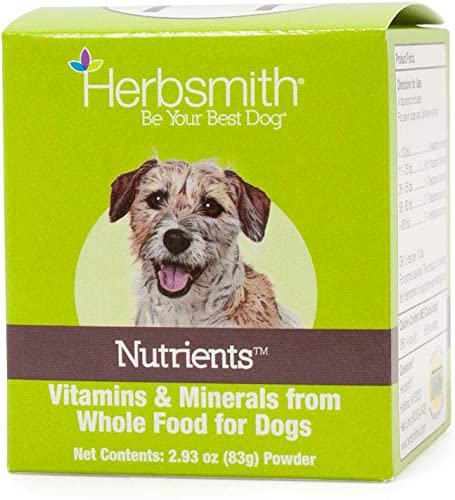 Herbsmith Nutrients – Vitamins and Minerals from Whole Foods – Dog Nutrients – Added Nutrition for Dogs