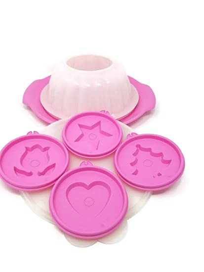 Amazon.com: Tupperware Jel-Ring Jello Mold with Holiday Shape Seals and Serving Plate: Kitchen & Dining