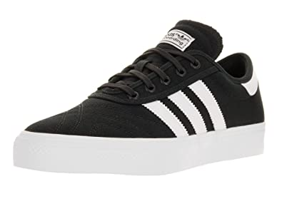 7ec4fa702ff Image Unavailable. Image not available for. Color  adidas Adi-Ease Premiere  Men Round Toe Canvas Black Skate ...