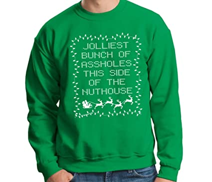 Jolliest Bunch Of Aholes Funny Movie Griswold Green Crewneck