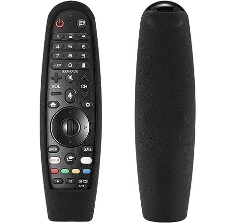 Cubierta remota Konesky para Control Remoto de Smart TV, Funda Protectora de Silicona a Prueba de Golpes para LG AN-MR600 AN-MR650 Cubierta del Control Remoto (no Incluido Control Remoto): Amazon.es: Electrónica