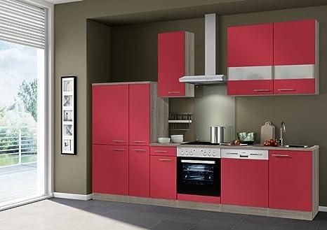 idealshopping Blocco Cucina Imola con lavastoviglie e Piano Cottura ...