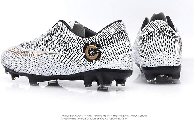 LCXAX Chaussures de Football Homme High Top Profession Comp/étition Athl/étisme Entrainement Sport Adolescents Chaussures de Foot en Plein Air Unsisexe