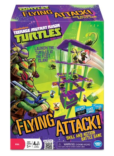 [Teenage Mutant Ninja Turtles Flying Attack Board Game] (Teenage Mutant Ninja Turtles Raph)