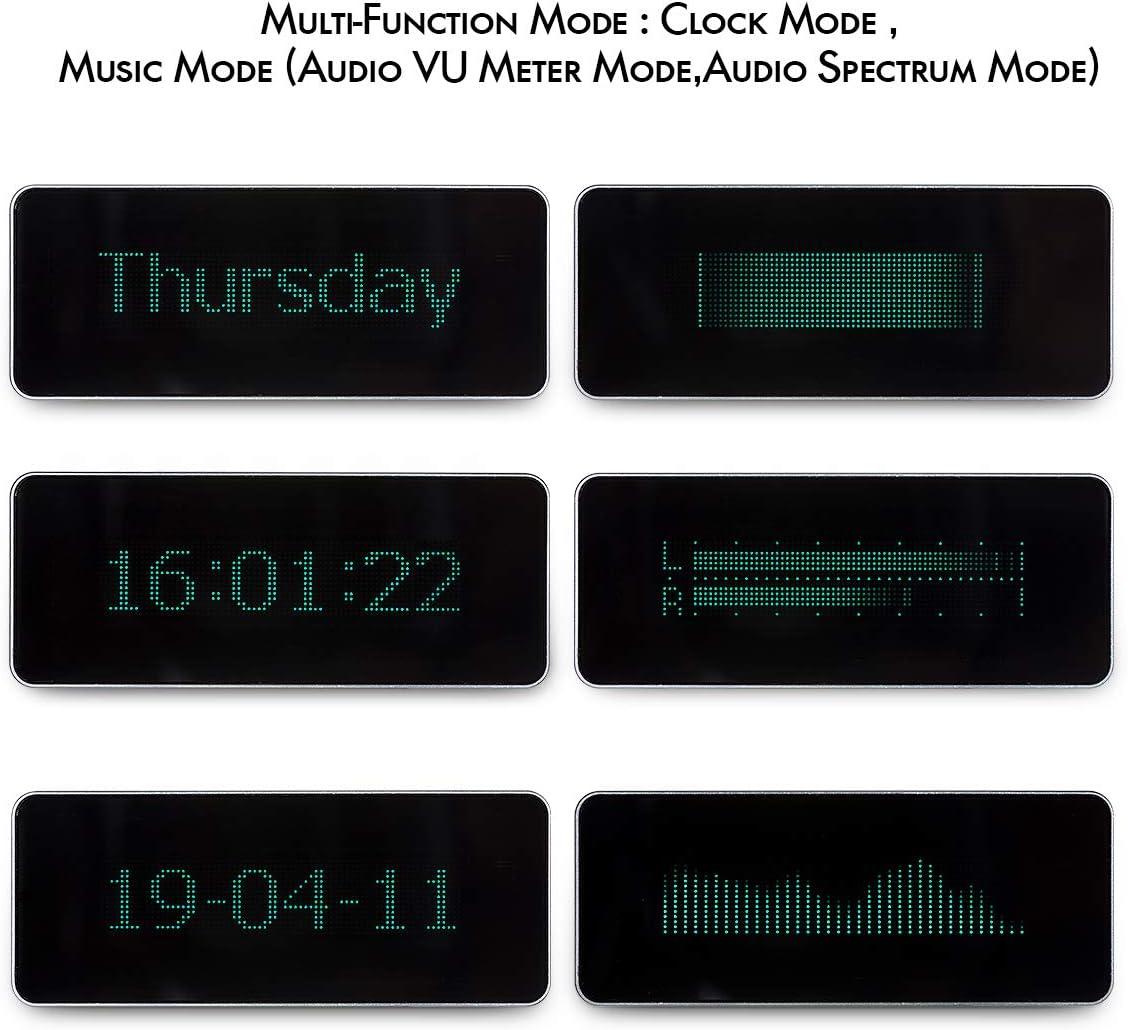 Music Spectrum AK7115 VFD High Precision Clock Audio VU Meter DB Indicator