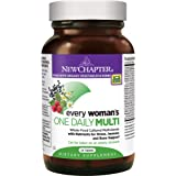 New Chapter Every Woman's One Daily, Women's Multivitamin Fermented with Probiotics + Iron + B Vitamins + Vitamin D3 + Organic Non-GMO Ingredients - 24 ct