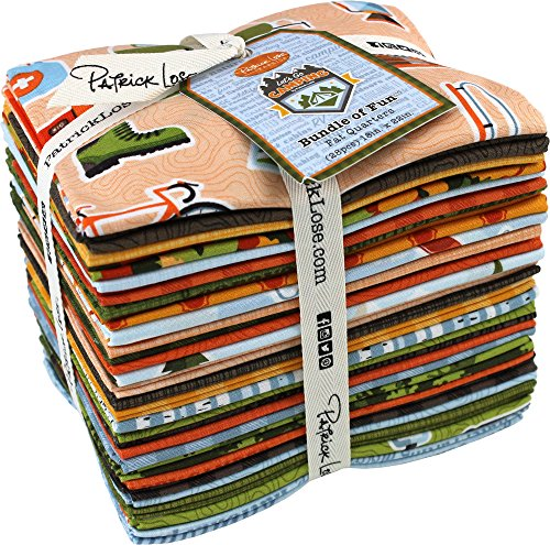 Let's Go Camping 28 Fat Quarters Patrick Lose - Lakeside Store Map