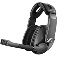 Sennheiser GSP 370 Over-Ear Wireless Gaming Headset, Low-Latency Bluetooth,Noise-Cancelling Mic, Flip-to-Mute, Audio…