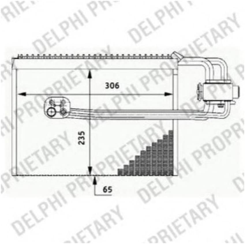 Delphi TSP0525184 Air Conditioning Component
