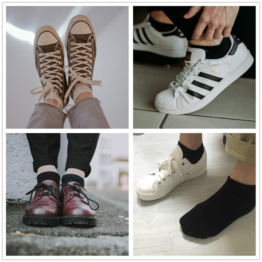 TUUHAW Sneaker Socken Damen Herren Sneakersocken 10Paar Halbsocken Kurze Atmungsaktive Baumwolle