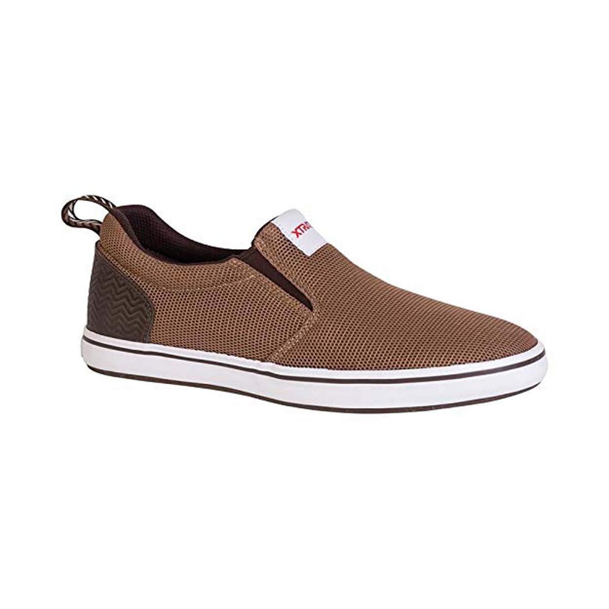 5 M Brown Xtratuf Mens Sharkbyte AM Slip On Shoes