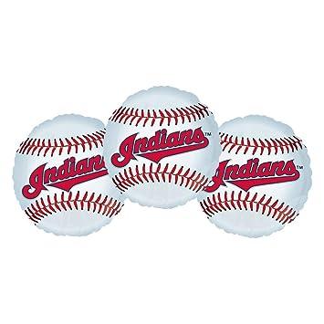 Amazon Com Cleveland Indians Baseball Party Decoration 18 Balloons