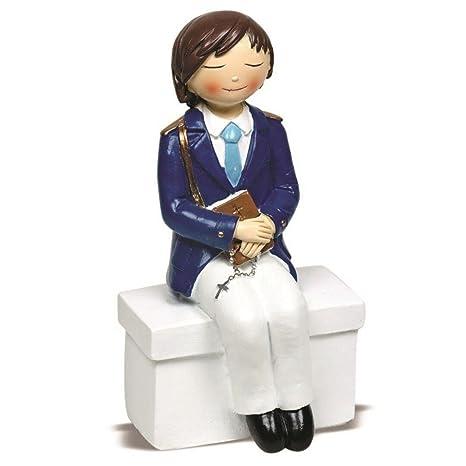 Figura Tarta Nino comunion sentado rosario: Amazon.es: Hogar