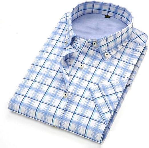NSSY Camisa de Hombre Camisa de Manga Corta Hombres, Verano ...