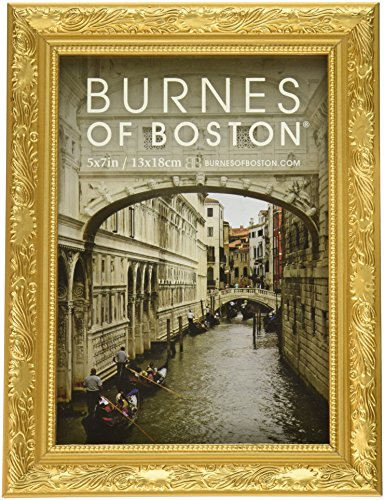 Burnes of Boston 266457 Windsor Leaves Picture Frame, 5-Inch