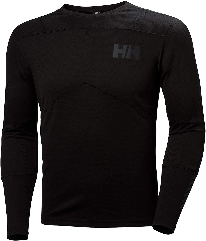 Helly Hansen Lifa Mens Base Layer Top Black All Sizes