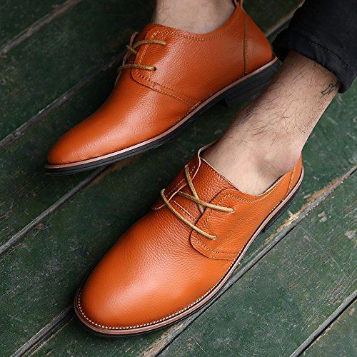 Salabobo - zapatilla baja hombre naranja