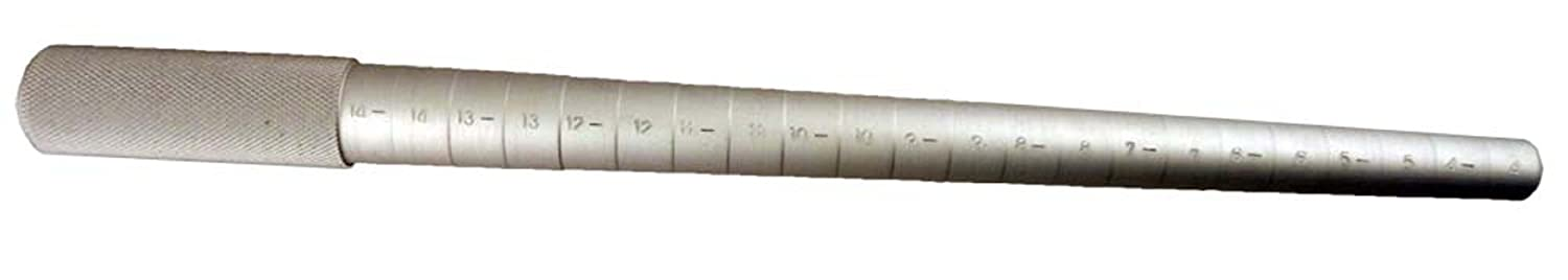 13' Solid Aluminum RING MANDREL 21 STEP : FOR RING SIZES :4-14 ToolUSA