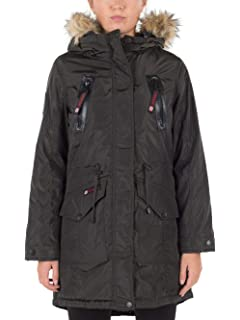 d64238a21be Amazon.com  CANADA WEATHER GEAR Womens  Plus Insulated Parka  Clothing