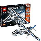 Spinning Rotors, Opening Front Cargo Bay Plane Playset