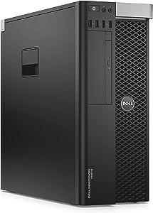 Dell Precision T5610 Workstation 2X Intel Xeon E5-2680 v2 2.8GHz (20-Cores) 128GB Memory Quadro M2000 4GB GDDR5, 512GB SSD, USB 3.0, No Operating System (Renewed)