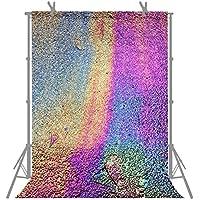 FUERMOR Customized Photo Background 5X7FT Rainbow Photography Backdrop Studio Props G355