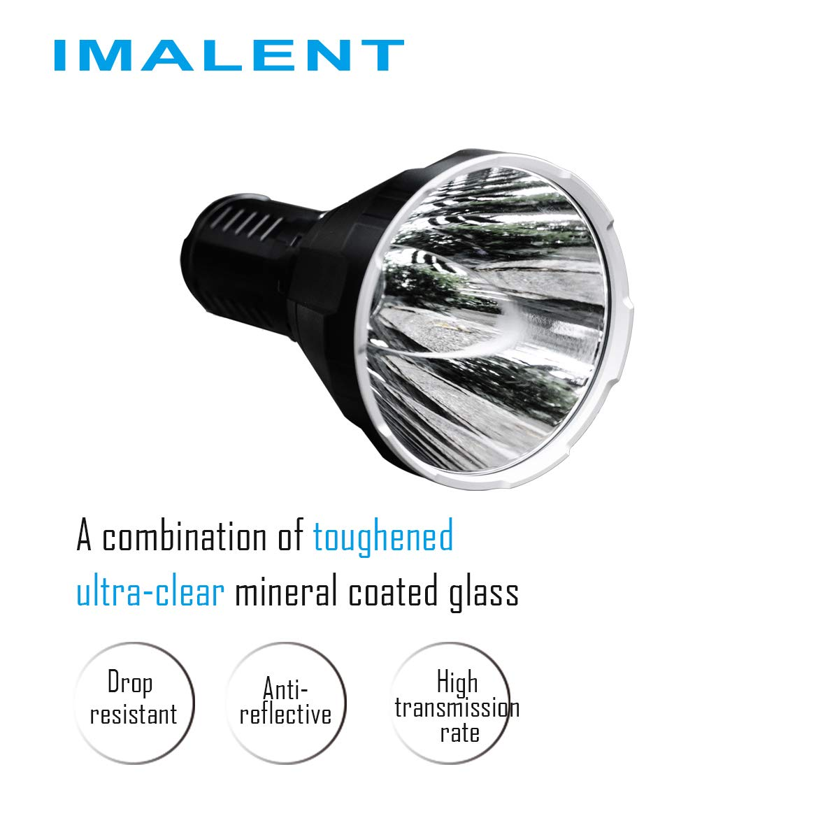 IMALENT R70C Flashlight Long Thrower 1270 Meters CREE XHP70 2nd Generation LED Floodlight USB Magnetically Rechargeable Handheld Torch For Camping and Adventuring
