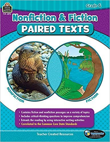 Nonfiction and Fiction Paired Texts Grade 6 by Susan Collins (2015-01-01)
