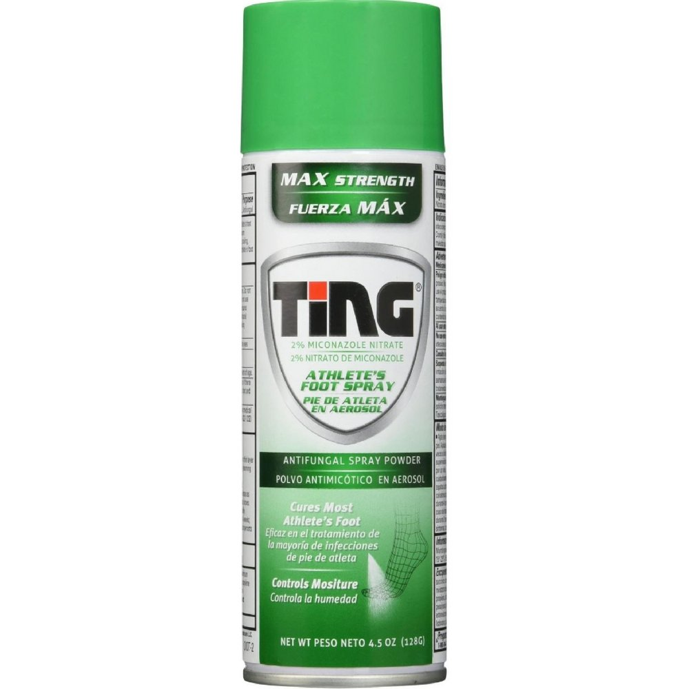 Ting Max Strength Athlete's Foot Spray, 4.5 Ounces each (Value Pack of 12) by Ting Ting