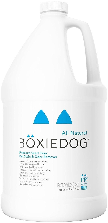 1 gallon Boxiedog U Premium Scent-Free Stain and Odor Remover-1 Gallon