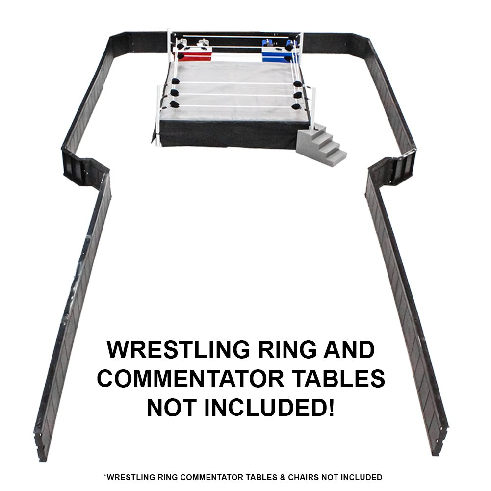 Ultimate Wrestling Ring Barricade Playset for WWE Wrestling Action Figures Figures Toy Company