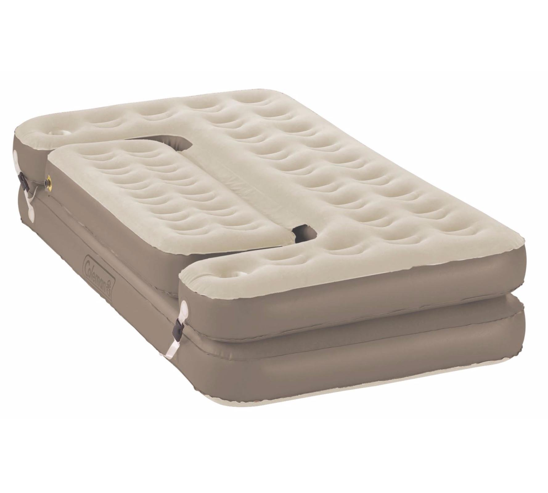 NEW! COLEMAN Premium 5-in-1 Twin/King PVC Quickbed Airbed Mattress & Hide-A-Sofa