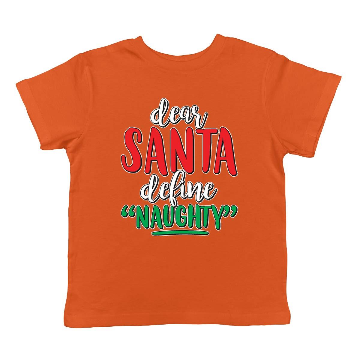 Define Naughty Infant T-Shirt SpiritForged Apparel Dear Santa
