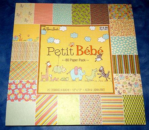"""12""""x12"""" BABY SCRAPBOOK PAPER Baby Girl The Paper Studio Baby Boy Scrapbook Paper New"""